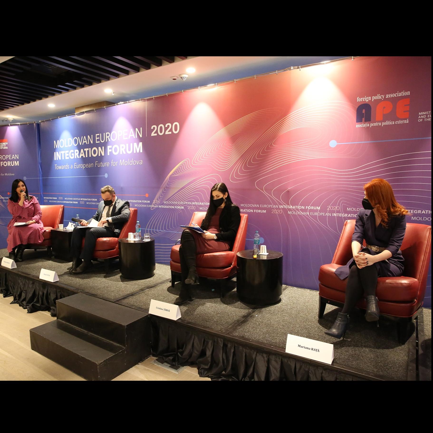 Forumul privind Integrarea Europeană a Republicii Moldova. Panelul II: Reforma justiției și integritatea judiciară - quo vadis?